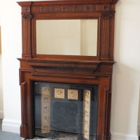 Period Properties - Castle Brae, Clare college fireplace 4.JPG