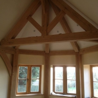 Oak Frames - Frame with Wax finish.JPG